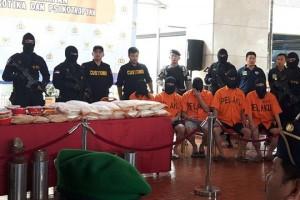 Sinergi Bea Cukai dan kepolisian kembali gagalkan penyelundupan 71 kg sabu-sabu