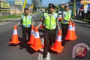 300 personel Polres Bogor amankan jalur puncak