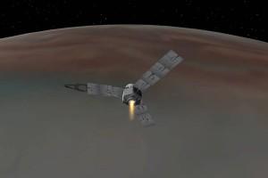 Juno memasuki orbit Jupiter