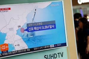 Korsel: Korut tembakkan misil dari kapal selam