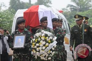 Pemakaman Korban Kecelakaan Heli