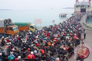 Mudik gratis lewat laut baru terisi 50 persen