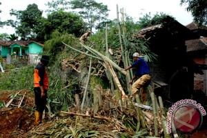 Kabupaten Sukabumi dilanda 101 kejadian bencana