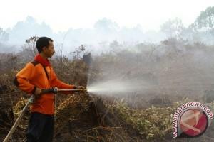 Pemadaman Kebakaran Lahan Gambut Dibakar