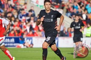 Klopp puji penampilan debut Grujic untuk Liverpool