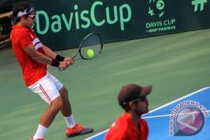 Tim Piala Davis Indonesia kalahkan Sri Langka 5-0