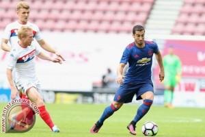 Usai jalani debut bersama MU, Mkhitaryan optimistis