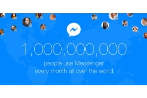 Facebook Messenger sentuh angka 1 miliar pengguna perbulan