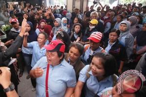 Demo Buruh Ricuh Di PN Jakpus