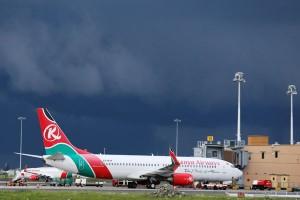 Lima penerbangan Kenya Airways dibatalkan karena aksi mogok