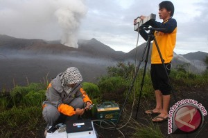 Aktivitas Vulkanik Bromo Fluktuatif