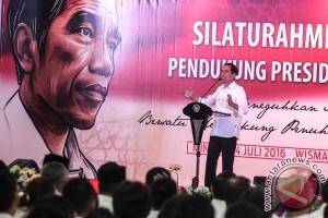 Silaturahmi Nasional Pendukung Jokowi 2016
