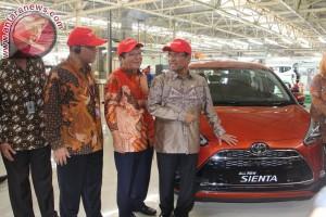 Menteri Saleh apresiasi peluncuran produk-produk otomotif baru