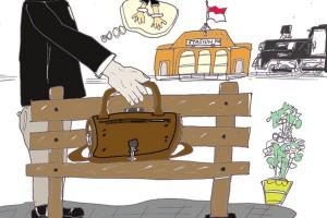 """Antara doeloe : Dipendjara setahun karena """"angkat"""" tas pakaian"""