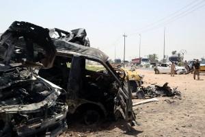 Bom mobil di mal Bagdad tewaskan tujuh orang