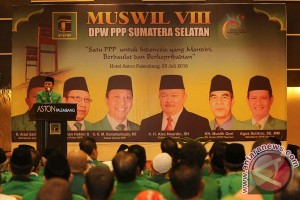 Pembukaan Muswil DPW PPP Sumsel