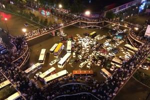 Puluhan ribu polisi bersenjata bantu korban banjir di China