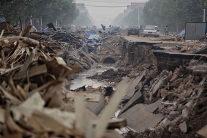 Banjir picu keprihatinan mengenai keamanan pangan di China