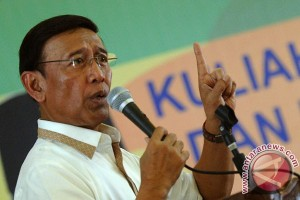 Mathlaul Anwar bersyukur Wiranto jadi Menko Polhukam