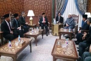 Grand Sheikh Al Azhar setuju usul Menag soal pendalaman bahasa di Indonesia