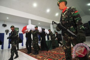 Pemberangkatan Jenazah TNI Salah Tembak