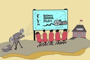 Antara doeloe : Pemerintah bentuk panitia pengerasan pemeriksaan pilem
