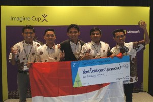 Tim Indonesia jadi runner-up Imagine Cup 2016 tingkat dunia