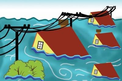 Banjir di Padang Sidimpuan, empat tewas