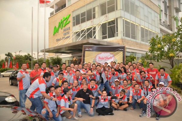 230 pecinta Toyota Corolla Altis hadiri halal bi halal Altic