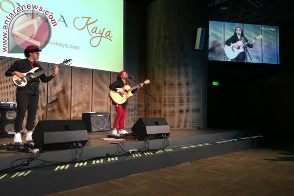 Endah N Rhesa Terharu Nyanyikan Lagu lagu Nasional