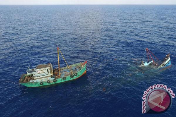 KKP tangkap kapal asing di Selat Malaka