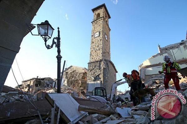Gempa Robohkan Bangunan Dan Gereja Bersejarah Di Italia Tengah