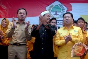 Ratusan tokoh desa Bekasi dukung Dedi Mulyadi