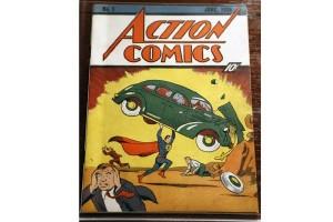 Komik Superman tahun 1938 terjual hampir sejuta dolar AS