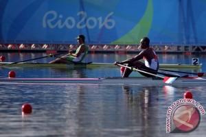 OLIMPIADE 2016 - Pertandingan hari kedua dayung tertunda karena cuaca buruk