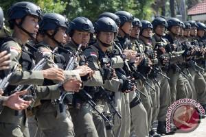 Konflik lagi di Intan Jaya, 100 Brimob dari Sulsel dikirim ke Papua