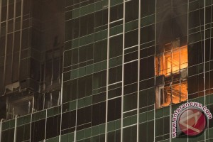 Swiss Belhotel Kelapa Gading terbakar