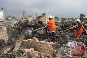 Kebakaran Rumah Penduduk Pondok Bambu
