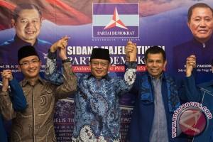 Deklarasi Cagub-Cawagub Banten Partai Demokrat
