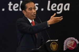 Presiden Jokowi sidak pelayanan amnesti pajak