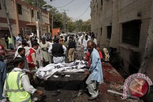 44 tewas dalam serangan di akademi kepolisian Pakistan