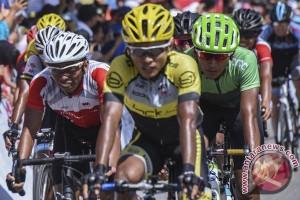 Klasemen sementara Tour de Singkarak 2016