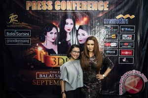 3 Diva akhiri konser reuni di Surabaya