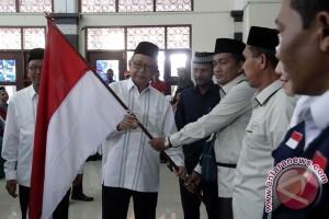 Pelepasan Kloter Pertama Calon Haji Aceh