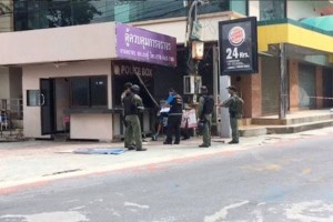 Bom tewaskan tiga polisi Thailand di Selatan