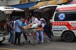 Satu tewas akibat ledakan bom di kereta di Thailand selatan