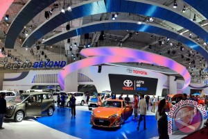 MPV jadi bintang Toyota di pameran Gaikindo