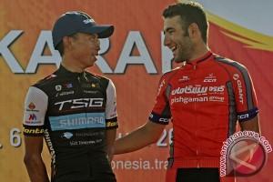 Amir Kolahdouz diambang juara Tour de Singkarak