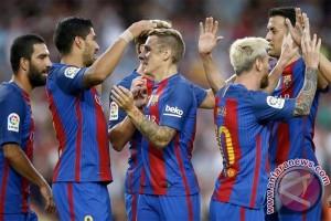 Messi sementara bawa Barcelona ungguli City 1-0