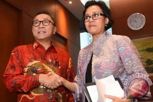 Rapat Konsultasi MPR-Menkeu